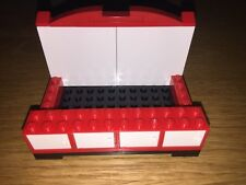 LEGO BUSINESS CARD HOLDER  CUSTOM CABINETS MADE FOR YOU DESK COUNTER TOP RED