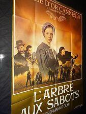 L' ARBRE AUX SABOTS  affiche cinema  1978