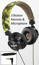 House Of Marley Revolution Camo Noise Isolating On-Ear Headphones Mic3+ Remote