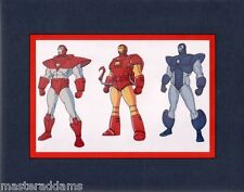 IRON MAN ARMOUR ACETATE CEL PROFESSIONAL MATTED PRINT Marvel SDCC Exclusive