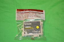 EPSON T0454 Yellow Ink Genuine C64 C66 C84 C86 CX3600 CX3650 CX6400 C6600