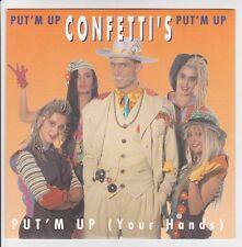"""CONFETTI'S Vinyle 45 tours 7"""" SP PUT 'M UP (YOUR HANDS) - DISQUES DEESSE 867-7"""