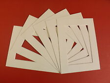 """100 TEXTURED WHITE PICTURE MOUNTS 12 x 12  for 10 x 10"""""""