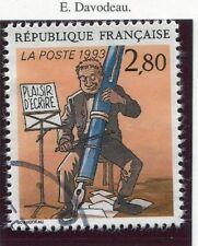 STAMP / TIMBRE FRANCE OBLITERE N° 2841 BD BONNE FETE