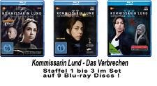 11 Blu-rays * KOMMISSARIN LUND - DAS VERBRECHEN - STAFFEL 1 - 3 IM SET # NEU OVP