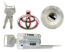 Toyota Paseo & Tercel (1991 thru 1998) Ignition Lock Cylinder with 2 New Keys -