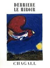 Marc Chagall (after) - Le Coq, Color Lithograph, Derriere Le Miroir 27-28, 1950