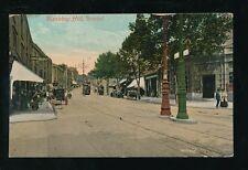 Gloucestershire Glos BRISTOL Blackboy Hill street scene 1908 PPC by Valentine