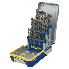 Irwin Tools AHN3018002 Irwin Hanson 29 Pc. Cobalt M-35 Metal Index Drill Bit Set