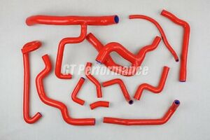 Kit 12 durites silicone Renault R19 16S Durite Soupapes Neuf 16 F7P ROUGE