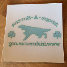Irish Setter Rescue/ Adopt A Setter window decal