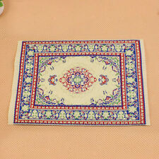 Multi-Colored Dollhouse Carpet Miniature Embroidered Carpet Rug for Home  Decor
