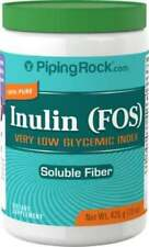 Piping Rock Inuline Prébiotique Fos Poudre, 426ml (425 G) Bouteille