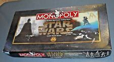 MONOPOLY STAR WARS CLASSIC TRILOGY EDITION PARKER BROTHERS