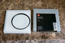 Leica E82 UVa II Filter (Black) - Original Leica filter Exellent condition