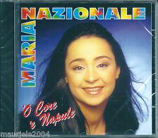 Maria Nazionale. 'O Core 'e Napule (2003) CD NUOVO 'O monte 'e Procida. Vattene