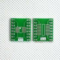 20pcs SO/SOP/SOIC/SSOP/TSSOP/MSOP 16 to DIP Adapter PCB Board Converter Arduino