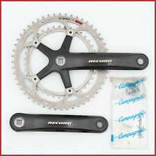 CAMPAGNOLO RECORD CARBON CRANKSET 172.5mm 52-39T SQUARE TAPER 10s SPEED EPS UD