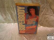 Superbody The Ultimate Low Impact Aerobic Workout VHS Deborah Crocker