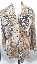 Chico's Women's Size 3 Button Front Top.G5