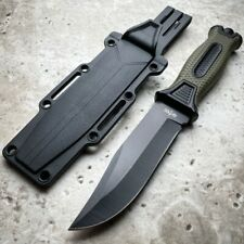 "9"" Military Tactical Combat Hunting Fixed Blade Survival Outdoor Camping Knife"