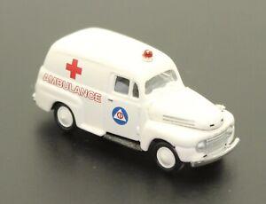 """1/87 HO Scale CMW """"Ford Ambulance"""""""