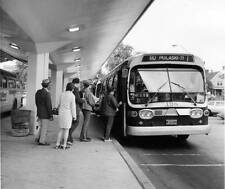 Photo. 1974-5. Chicago, Illinois. CTA Bus Stop - Ashland & 63rd