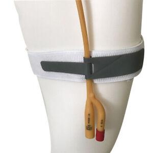 Catheter Holder Fixation Elastic Adjustable Leg Band Catheter Strap Wrap US