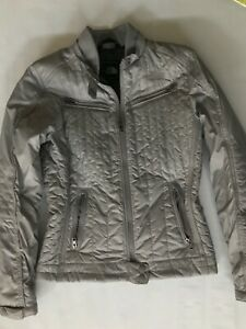 The North Face Arel Motorcycle Style Gray Jacket Size S