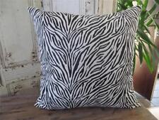 Faux Fur Animal Print Square Decorative Cushions & Pillows