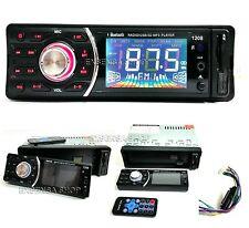 STEREO AUTO AUTORADIO AUX MP3 USB SD RADIO FM BLUETOOTH VIVA VOCE MOD.1208