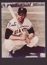 Monte Irvin signed 8X10 w/COA certificate from GAI