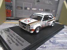 FIAT 131 Abarth Rallye Portugal 1980 #10 Bettega MS Olio 1/150 RAR Trofeu 1:43
