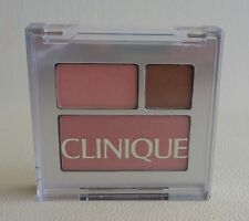 1x CLINIQUE colour surge eye shadow duo & blushing blush powder blush Palette