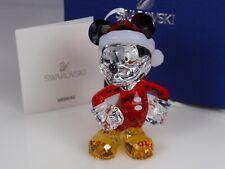 Swarovski Mickey Mouse Christmas Ornament NIB #5004690