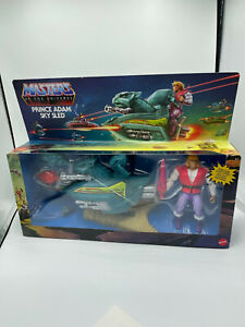 He-Man Masters of the Universe MotU Origins Prince Adam Sky Sled NEU OVP