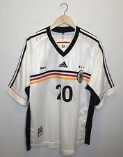 Germany National Team 1998/99 Home Football Shirt Jersey Soccer Adidas Size XL