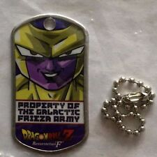 Dragon Ball Z DBZ 2015 Comic-Con Frieza Resurrection F Dog Tag UNOPENED!!!