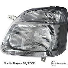 Scheinwerfer Links Opel Agila passend nur bis Baujahr 02/2002