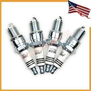 4 x New BPR6EIX 6637 Iridium Spark Plug for Toyota Subaru Renault Mazda BMW Benz