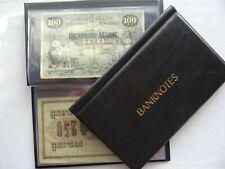Banknote Album,Wallet Storage Book, Folder  FOR 20 BANKNOTES  ( BLACK )