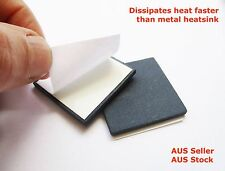 Large Heat Sink 30 X30mm 4pc CPU Cooling IC LED  High Conductive 10C/W