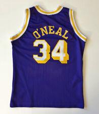 SHAQUILLE O'NEAL - LA LAKERS TRIKOT JERSEY 1996/97 #34 GR. XL / 164 CHAMPION NBA