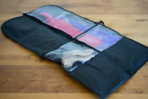 DANCE COSTUME BAG Garment Storage & Travel - TWO PACK - Carry Strap + Pockets