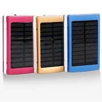 Portable Dual USB Mobile Battery Charger Solar 18650 Power Bank Case DIY Kits