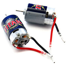 Traxxas 1/10 E-Maxx* TWO 21t TITAN 550 MOTORS & BULLET CONNECTORS * 14 Volts