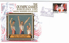 (03760) Espagne Benham Cover Jeux Olympiques Aviron Searle Herbert Barcelone 1992