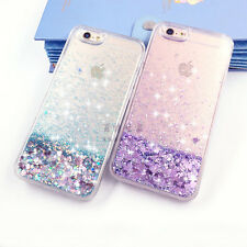 New Liquid Glitter Bling Moving Quicksand Case Cover For iPhone 5 6 6s 7 Plus 7+