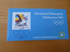 BRD Olympia  1994  Lillehammer  MH   6 x Mi 1717 postfrisch