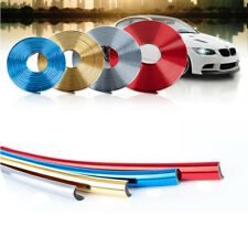 8M 26FT Car Wheel Hub Rim Trim Glossy Tire Guard Rubber Strip Protector Sticker